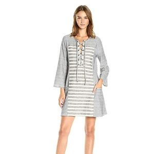 BCBGMaxAzria Lani Striped Knit Dress